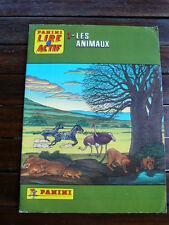 Album Panini complet 1986 -- Lire actif N°1 Les animaux