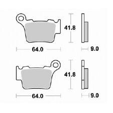 Pastillas de freno Ktm 125 exc 1998-2009 trasera S1997 Kyoto