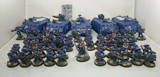 Space Marine Ultramarines Army Demi Company Painted Warhammer 40k