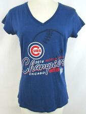 Chicago Cubs Womens S Touch Screened World Series 2016 Champions T-shirt CGC 11