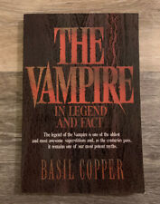 The Vampire : In Legend and Fact by Basil Copper (1988, Paperback)