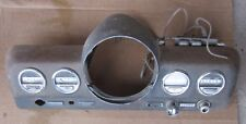 1949 Mercury Dash Speedometer Instrument Cluster Bezel &4 Gauges Hot Rod SCTA 49