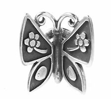 RETIRED RARE JAMES AVERY STERLING SILVER MARIPOSA PIN