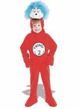 DR Seuss Thing 2 RUBINI Peluche unionsuit Costume Di Halloween Bambino Taglia Media 7-8