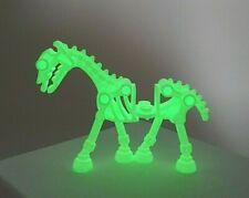 Lego Minifigure Skeleton Glow In The Dark Mini Figure Horse White Skeletal