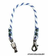 "Royal And White Braided Rope Horse Trailer Tie 32"" New Horse Tack Equine"