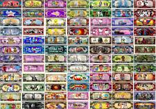 Lot 90 Billets différents différents. Dessins Animés COMICS USA. Commémorations