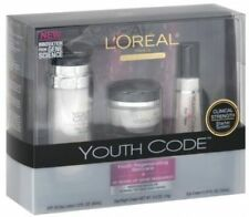L'Oreal Paris Youth Code Regenerating Skincare Kit (Day Lotion, Day/Night Eye