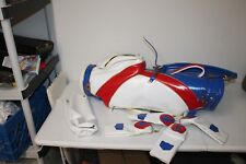 VTG Hot Z HTZ 37504 M Golf Club Cart Bag America Color Red White Blue