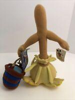 Disney Fantasia Broom Plush Sorcerers Apprentice Bucket Stuffed Toy Rare W/Tags