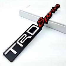 TRD Sportivo Sports Heavy Metal 3D Sticker Car Toyota Etios Liva Innova Fortuner