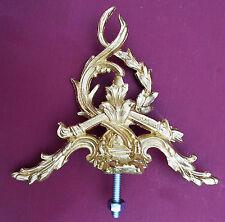 Gilbert metal mantle clock top finial.Clock parts.Metal furniture decorations