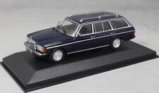 Mercedes-Benz 230TE W123 in Blue 1982 1/43 Minichamps (Maxichamps) 940032211