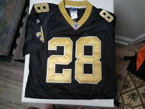 New Orleans Saints Mark INGRAM All Embroidered Onfield Reebok Jersey Small 10-12