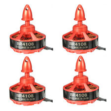 4X Racerstar Racing Edition 4108 BR4108 380KV 4-12S Brushless Motor For 500 550