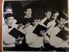 """Vtg Glossy Press Photo Handel & Haydn Society Chorus """"Choral Symphony"""""""