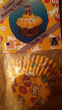 125 ACME EASTER MUFFIN / CUPCAKE BAKING CUPS Regular  and Mini Muffin sizes