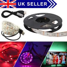 50cm USB LED Strip Lights TV Back Light RGB Colour Changing Remote Control