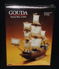Lindber Model Kit Gouda Dutch Man Of War Sailing Ship Kit# 70871 New