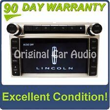 Lincoln MKX MK-X Radio AMFM Stereo Navigation GPS Bluetooth Single CD DVD Player