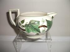 Wedgwood Napoleon Ivy creamware bute shape creamer. 1940's