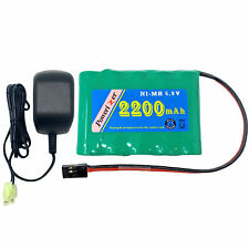 6 Volt NiMH Battery Pack (2200 mAh) + Charger