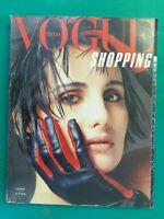 Vogue Italy Shopping 405 December 1983 December Furs Fashion Fur Fourrure Pelz