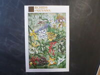1990 GUYANA ORCHIDS OF GUYANA 16 STAMP SHEETLET MINT #3