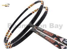 2x Apacs Nano 9900 4U Badminton Racket Racquet Free Stringing + String + PU Grip
