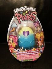 NEW ~ HATCHIMALS PIXIES ~ ROYAL SNOW BALL ~ Silver/Blue Egg