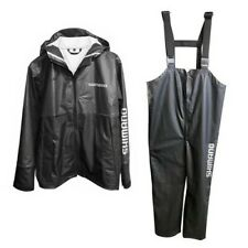 Shimano Pur Rain Jacket And Bib Combo Set Sizes L-XXL Black