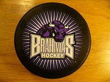 CHL Fort Worth Brahmas Shining Burst Team Logo Hockey Puck Check My Other Pucks
