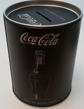 Nostalgic Art Spardose Coca Cola Schwarz Sparbüchse Money Box Nostalgie Dose