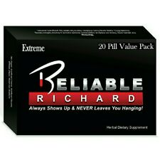 Reliable Richard Extreme 20 Pill Pack - Save $ On The Best Quality Supplement!
