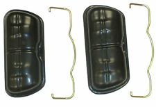 VALVE COVERS W/ CLIPS FITS VOLKSWAGEN TYPE1 BUG TYPE2 BUS TYPE3 GHIA THING