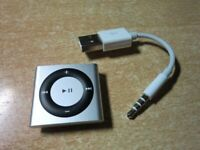 Apple iPod shuffle 4th Generation 2GB Silver Music Player