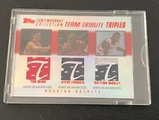 2003-04 Contemporary Collection 11/50 Yao Ming - Steve Francis - Mobley TRIPLES