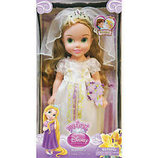 Rapunzel My First Disney Princess 15 inch Wedding Tangled Rapunzel Doll NIB
