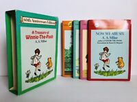 A Treasury of Winnie The Pooh 60th Anniversary Edition Box Set Book Lot
