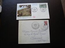 FRANCE - 2 enveloppes 1959/1960 (cy97) french
