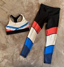POCKET Matching Sportsbra and Leggings. Size UK XS and M.