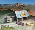 HO Scale 1:87 Shanty Building - Pre-Cut & Pre-Scored CARDSTOCK PAPER kit WSL1