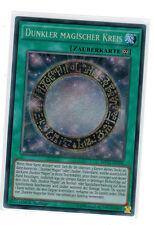 dunkler magique cercle mp17-de100, secret rare, Mint, 1 ère Edition