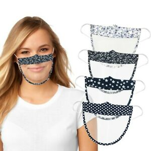 Clear Face Shield Half Face Mask Visor Protection PPE Shield Plastic Transparent
