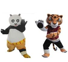 New Kung Fu Panda Po Or Tigress Mascot costume adult for kids party function