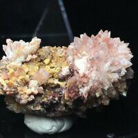 37.6g Beautiful Natural Creedite flowers crystal mineral specimen Gui Zhou China