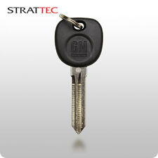 New GM OEM Transponder Ignition Key Uncut Blade Blank Car Key Chipped
