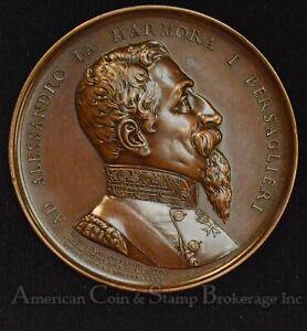 Italy-Venice 1886 50th anniversary Bersaglieri Alessandro La Marmora Medal