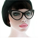 NEW WOMEN CAT EYE GLASSES CLEAR LENS NIKITA RETRO VINTAGE DESIGN FASHION FRAME