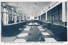 Salle de Commerce Academie Commerciale QUEBEC Q Canada 1910-20 Novelty Postcard